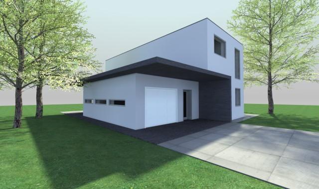 Nízkoenergetický rodinný dom NOR1