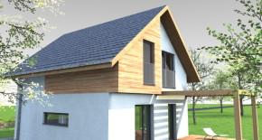 Nízkoenergetický rodinný dom POK2 1