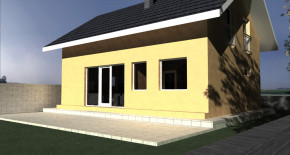 Nízkoenergetický rodinný dom KOV 1