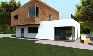 projekt rodinného domu v Čunove