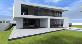 nízkoenergetický moderný rodinný dom