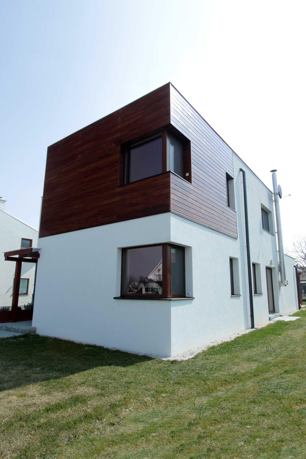 Projekt rodinných domov