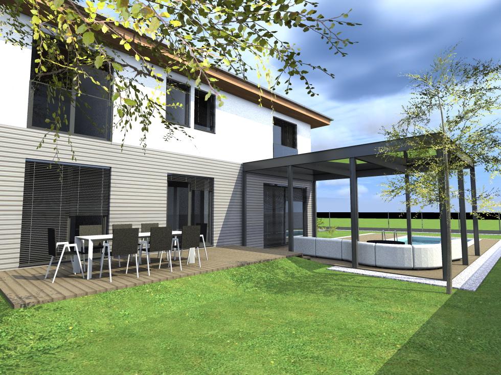 Nízkoenergetický rodinný dom STR2
