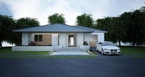 Projekty moderných rodinných domov