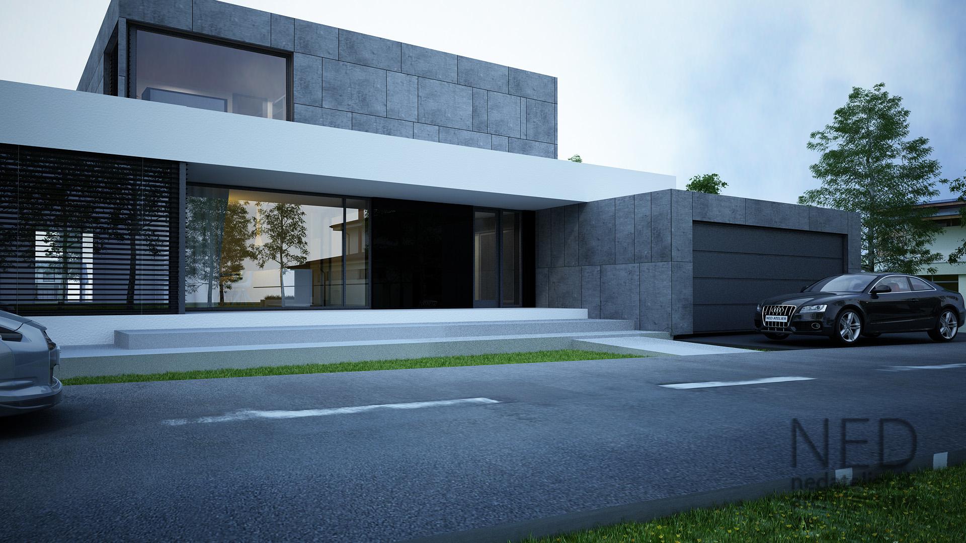 Projekty Domov Hlu Ned Atelier