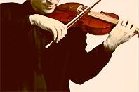 Som prosto klasik. Virtuóz hrá na husle.