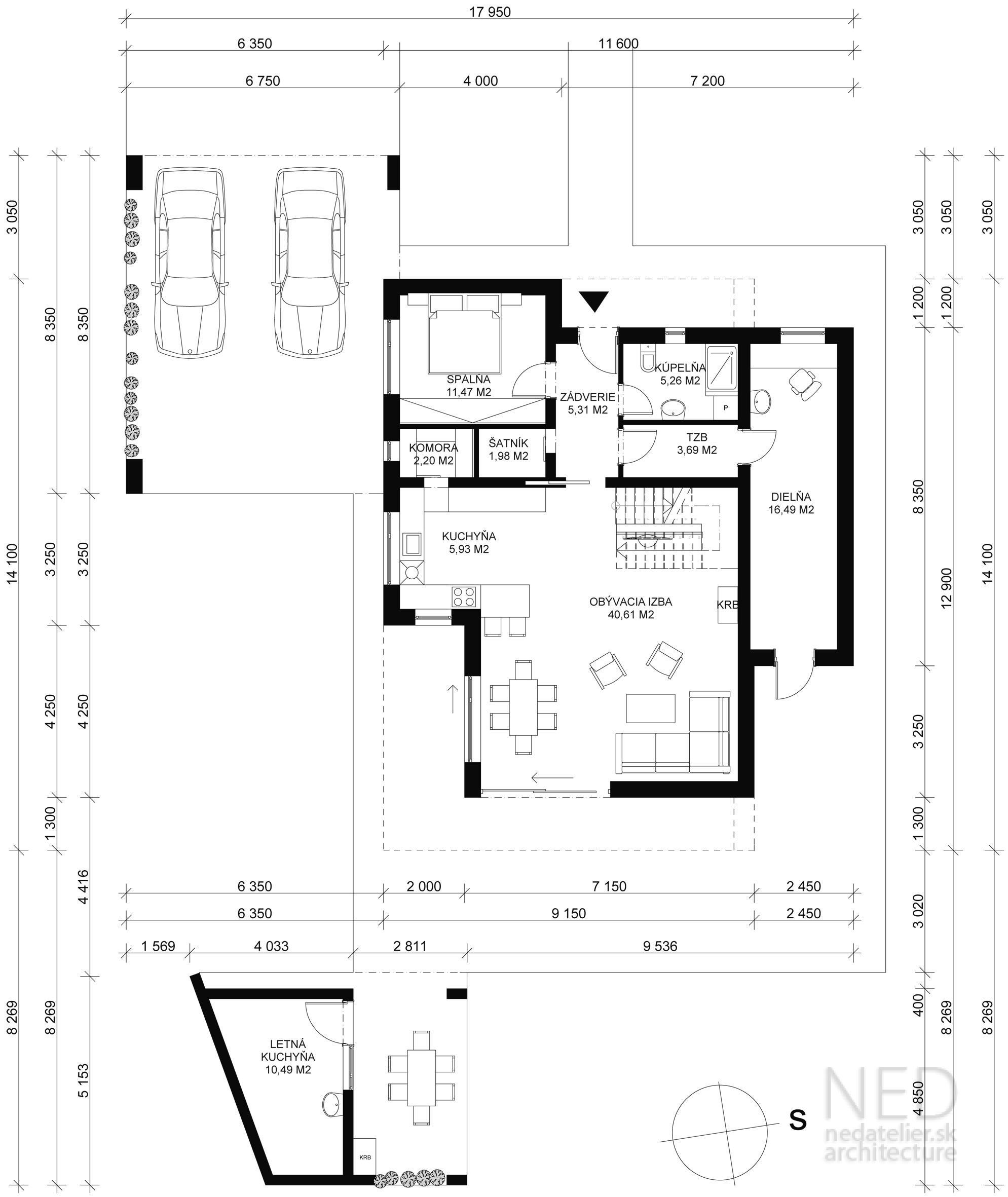 Projekt domu GAV