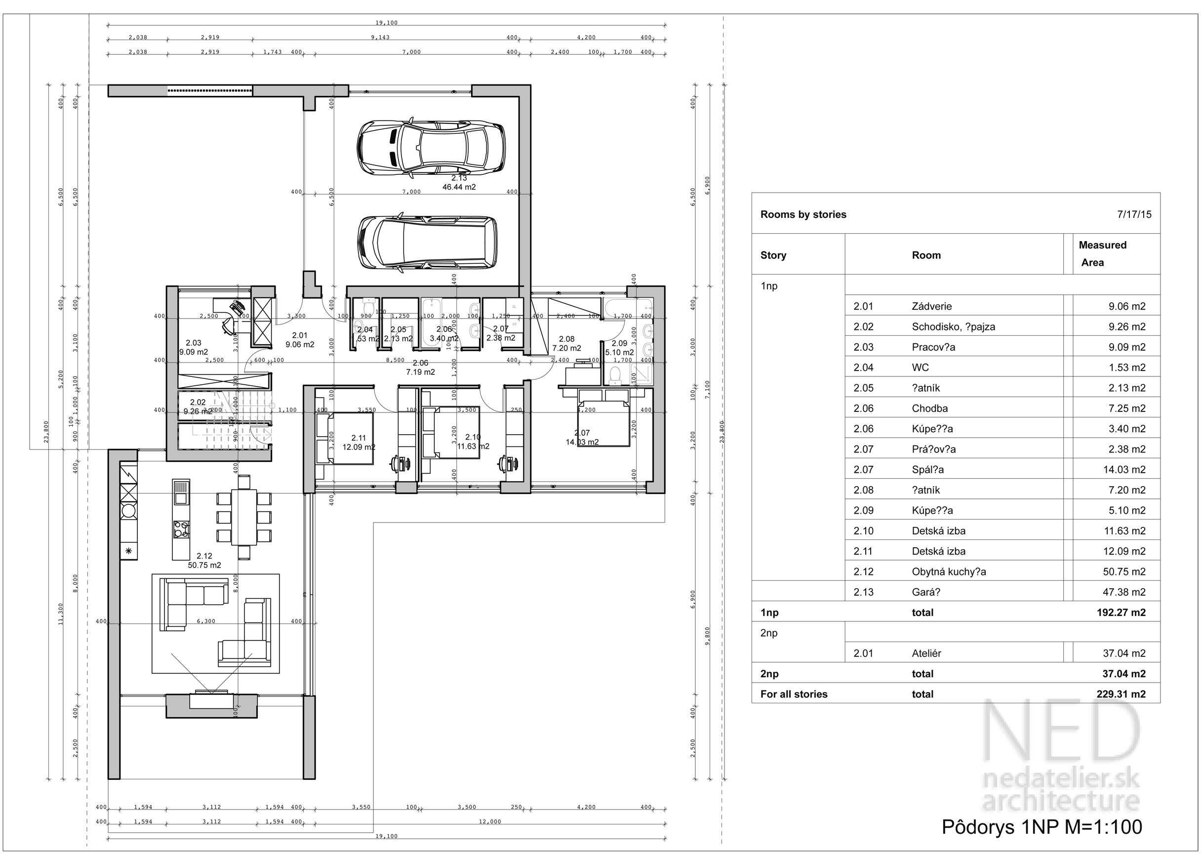 Projekt domu CHA