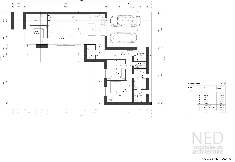 Minimalistický dom ZAT
