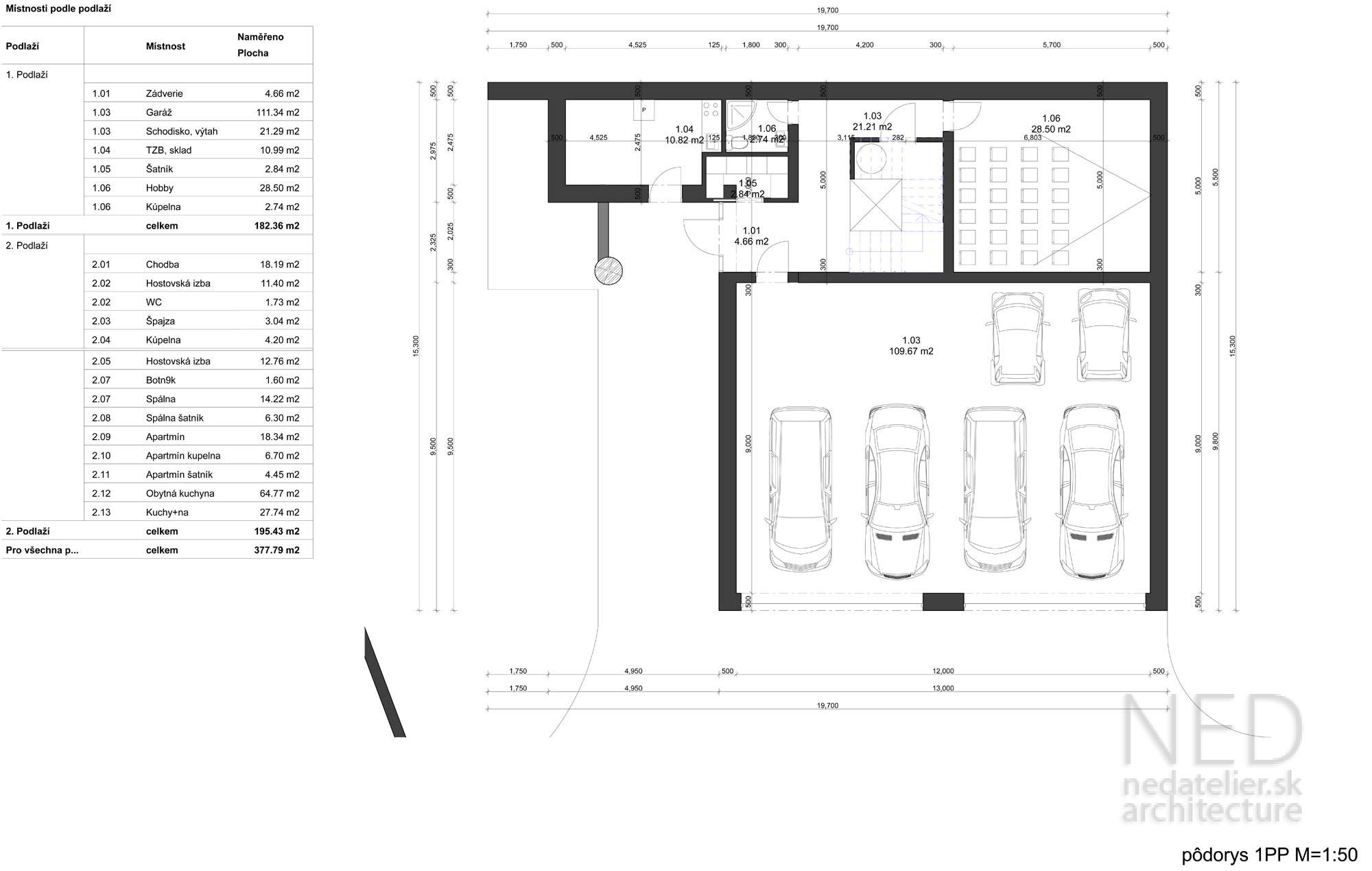 projekt domu VOL