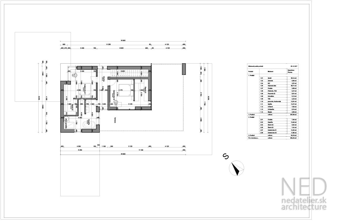 Projekt domu BRU