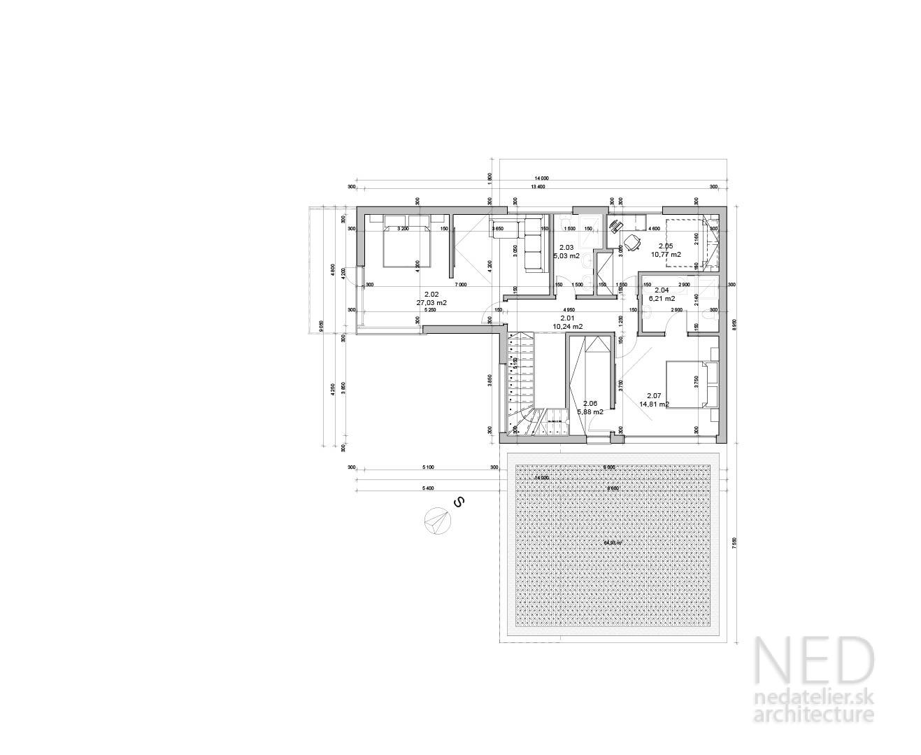 moderný dom WEI