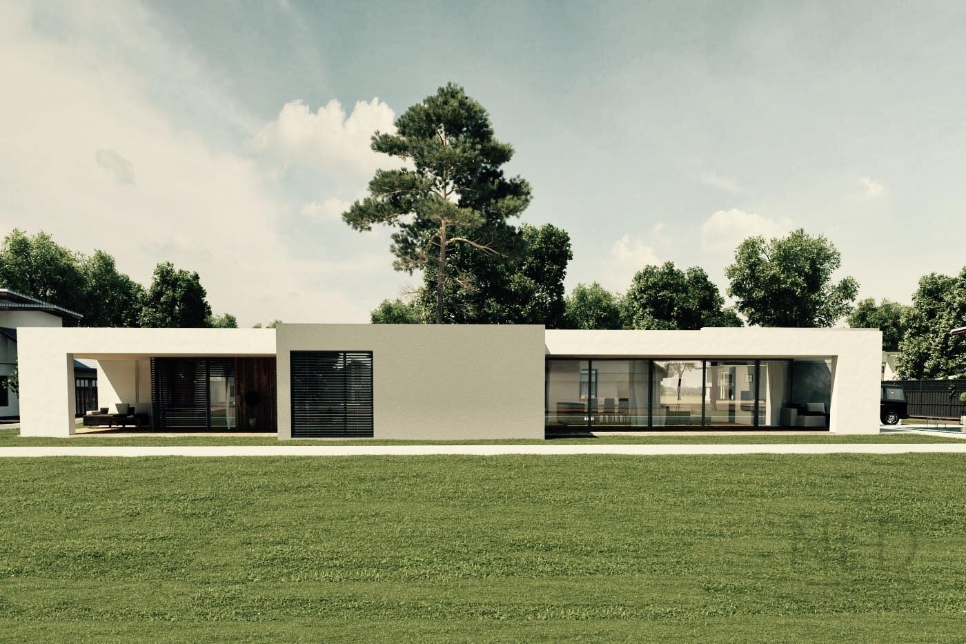 príyemný moderný rodináý dom
