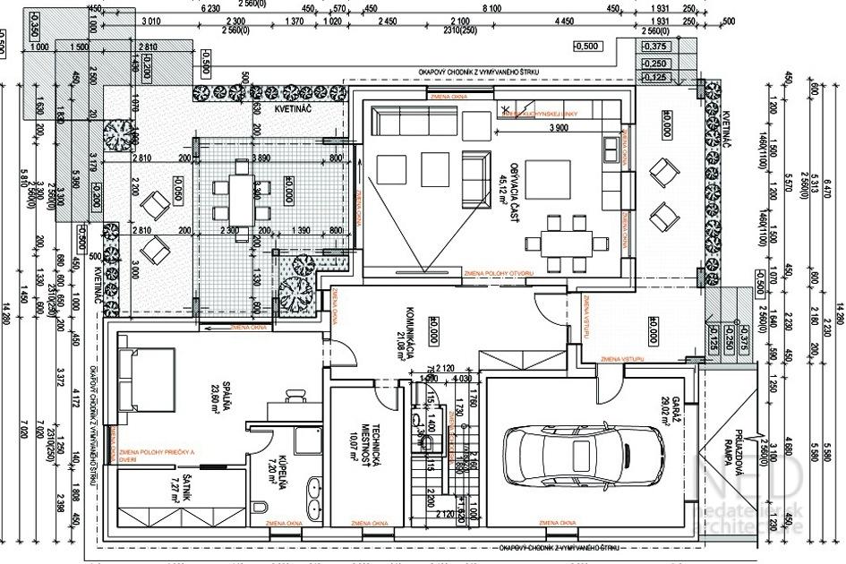 Projekt domu ARE