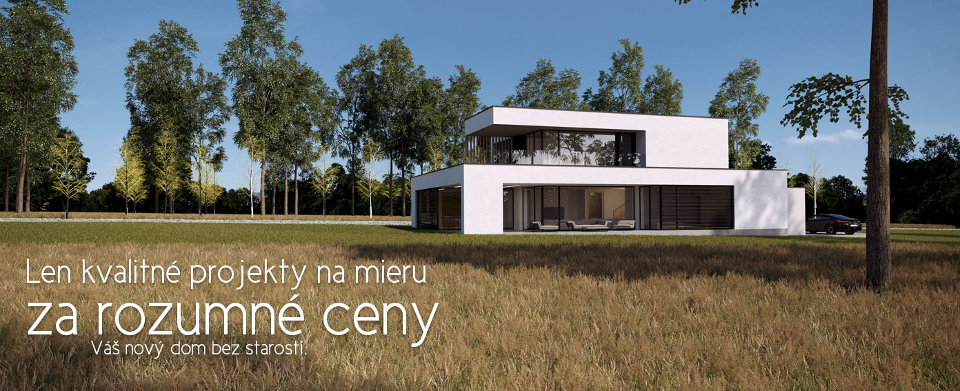 vidiecke domy projekty