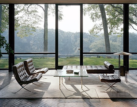 farnsworth house glass-house-interior102