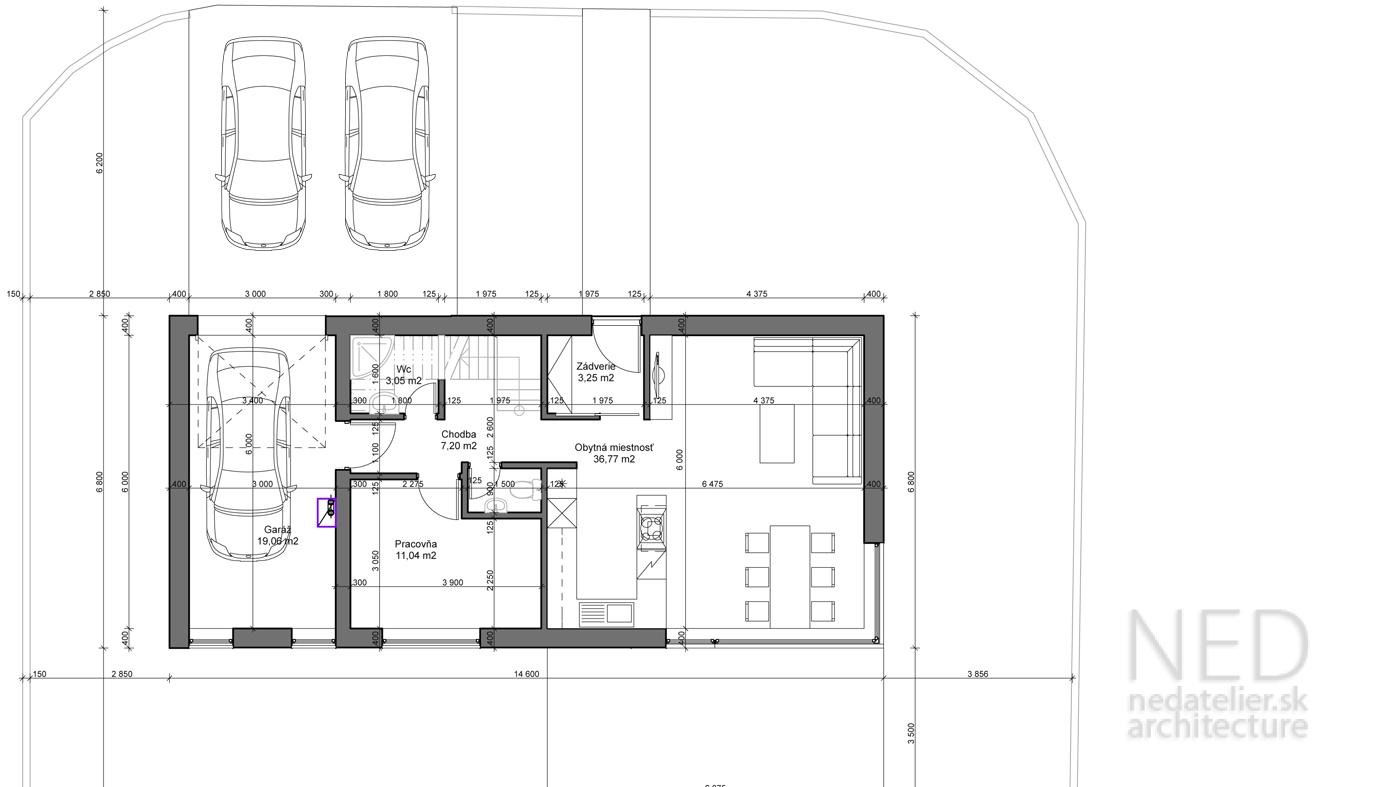 Projekt domu MALO
