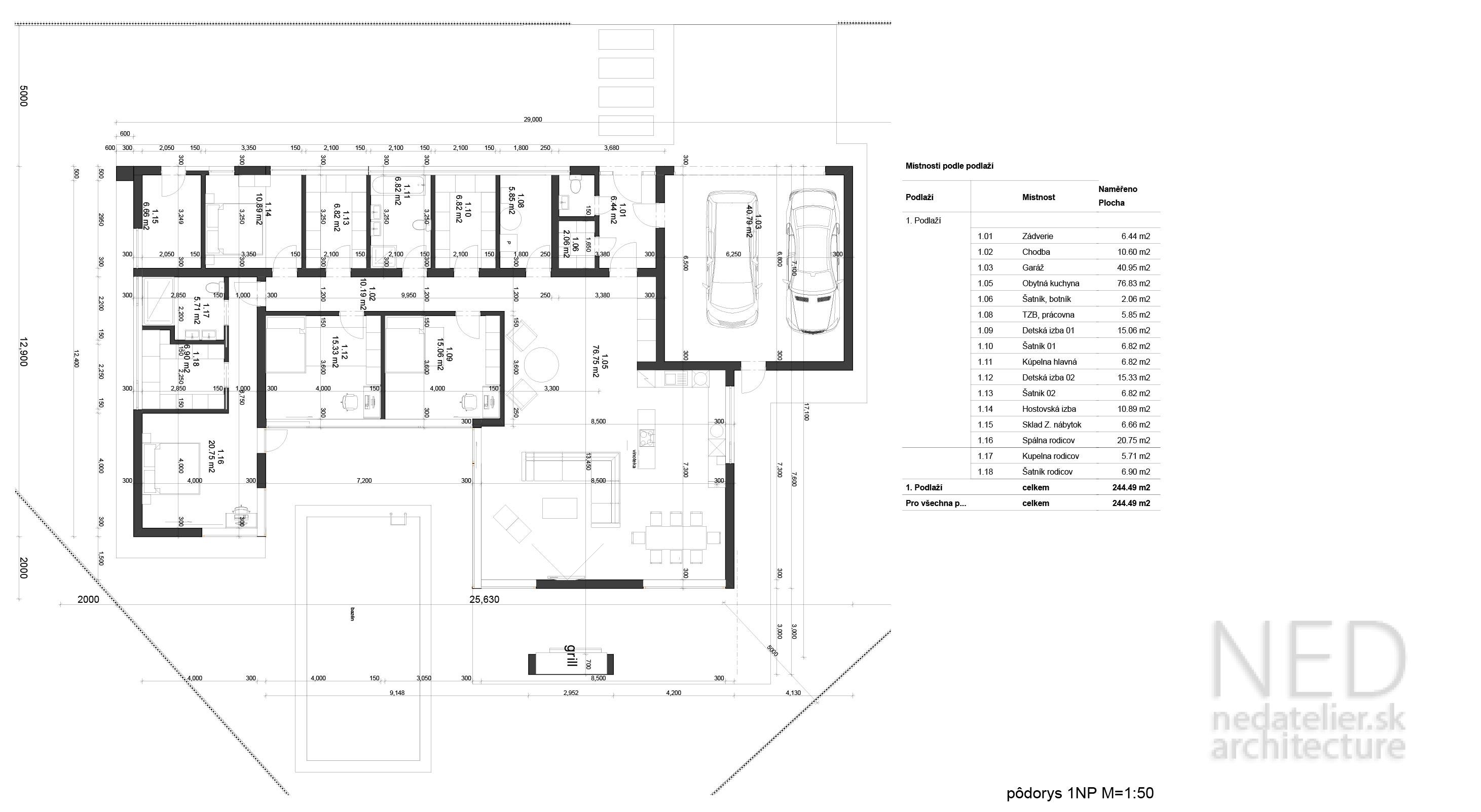 Projekt domu SOP