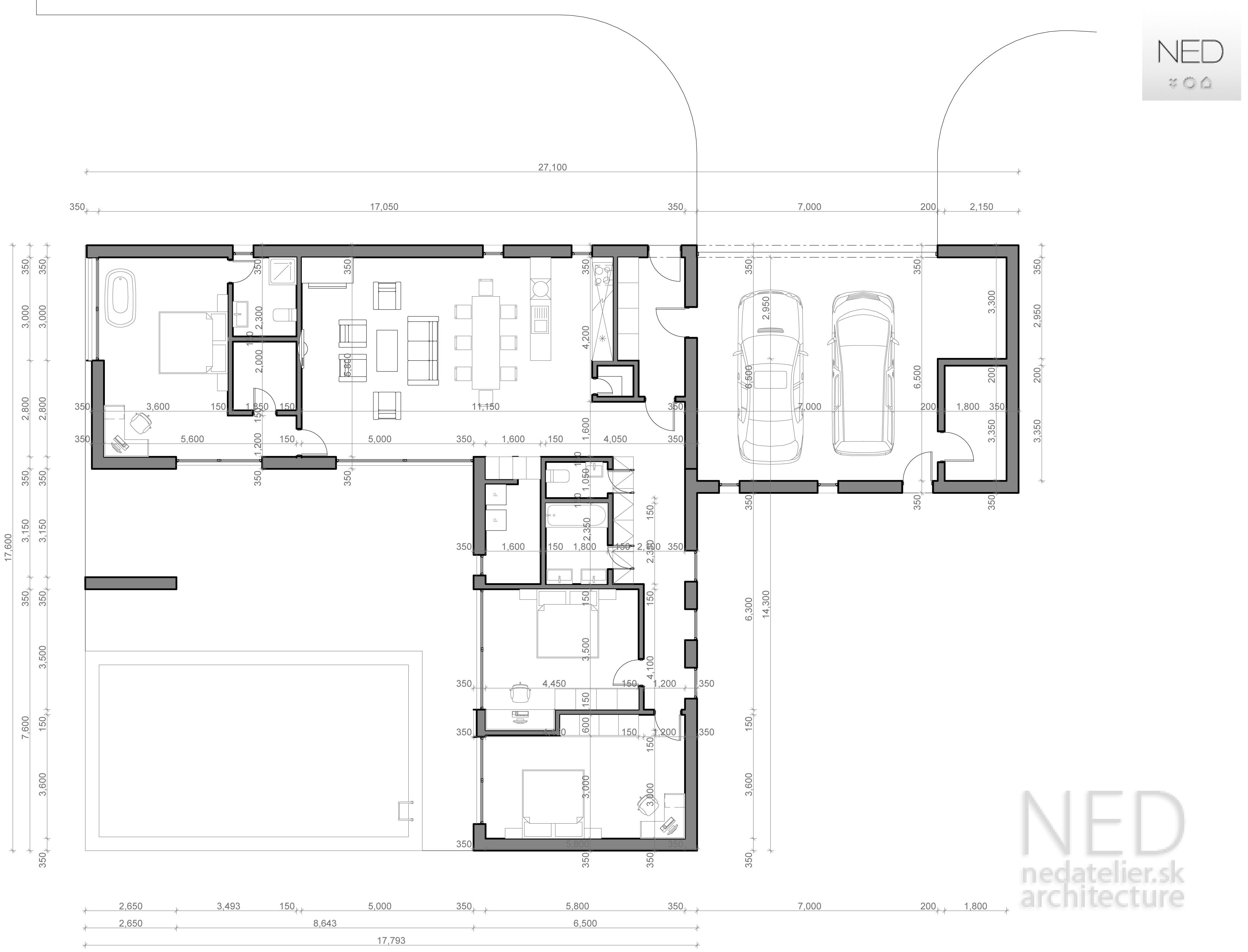 Projekt domu VYS