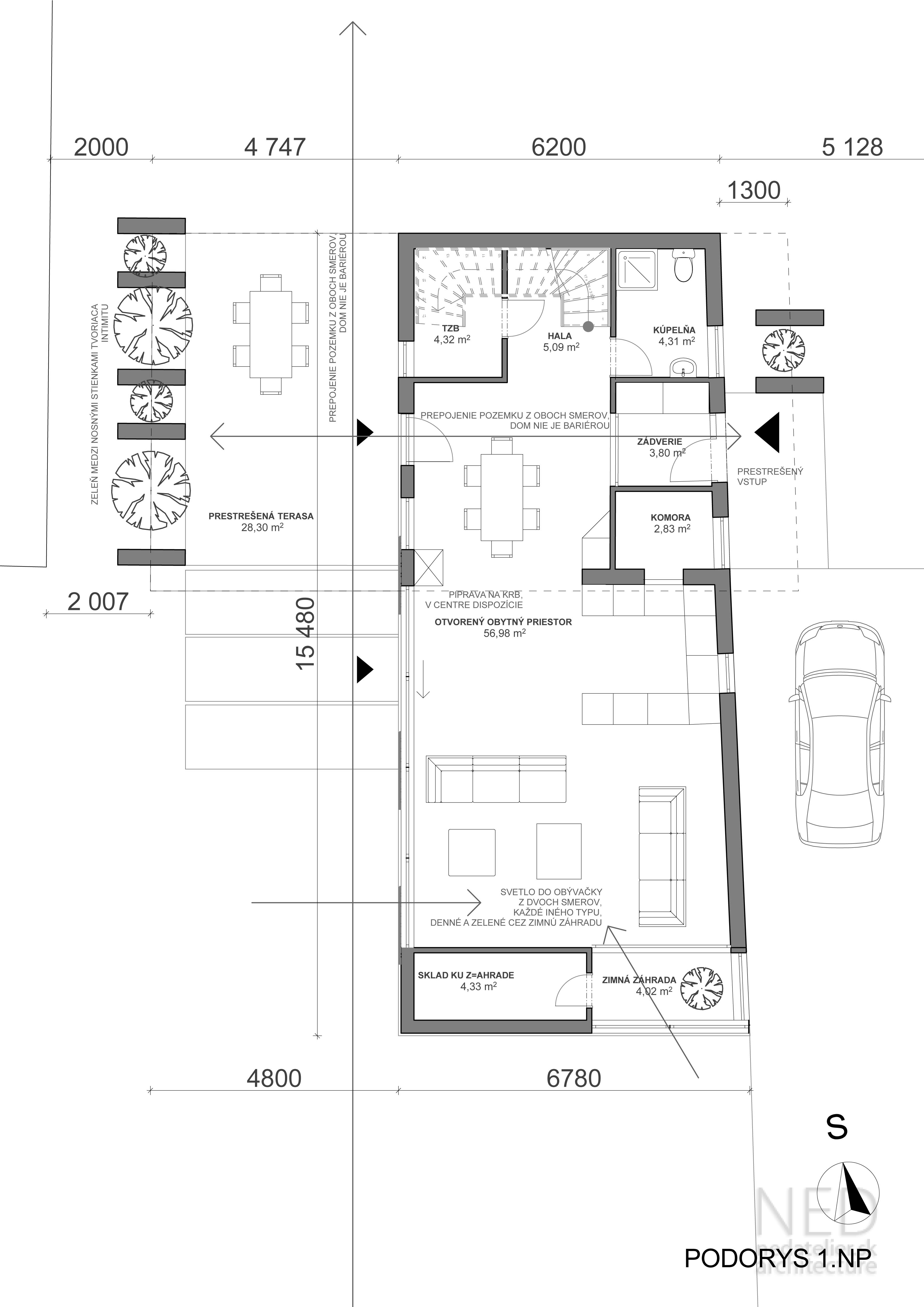 Projekt domu PAT