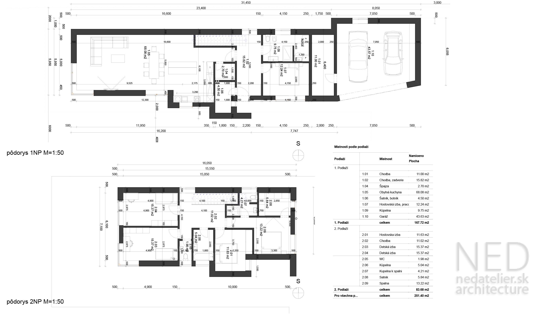 Architektúra domu MAR
