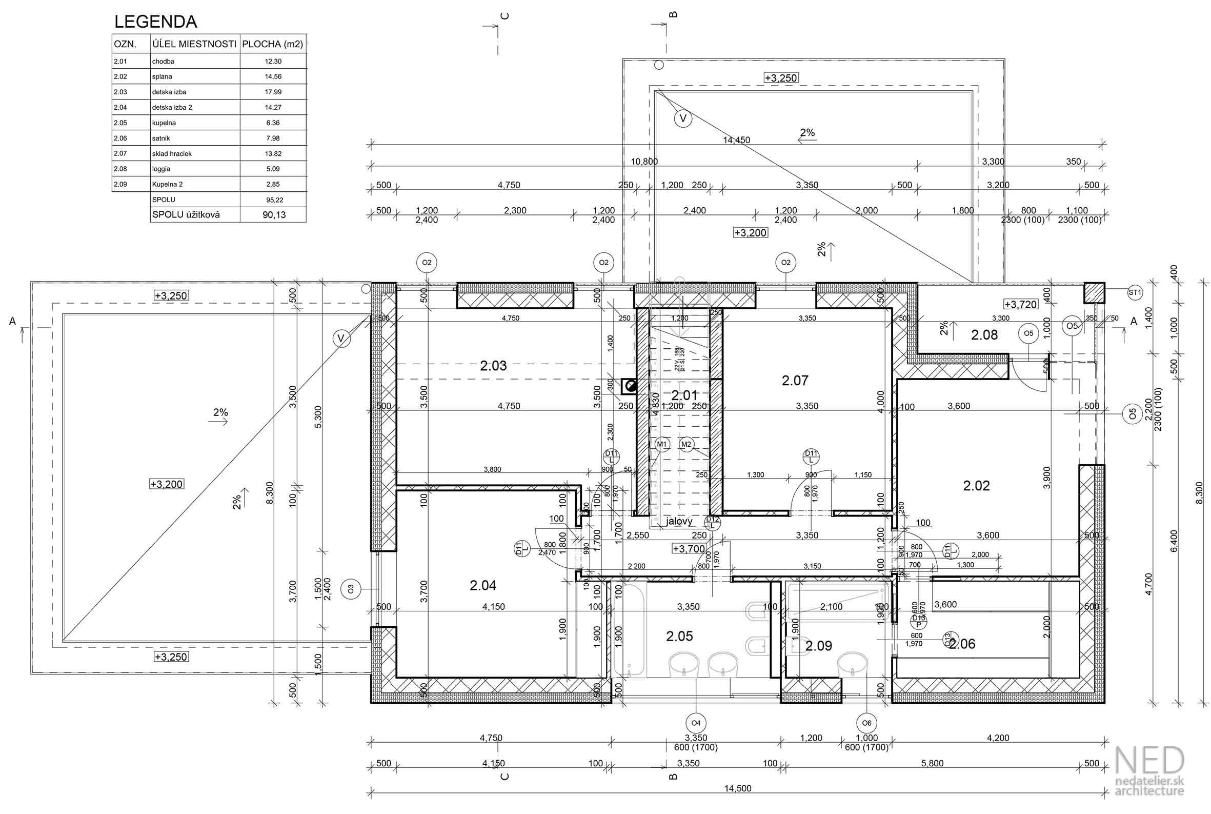 Projekt domu Stupava