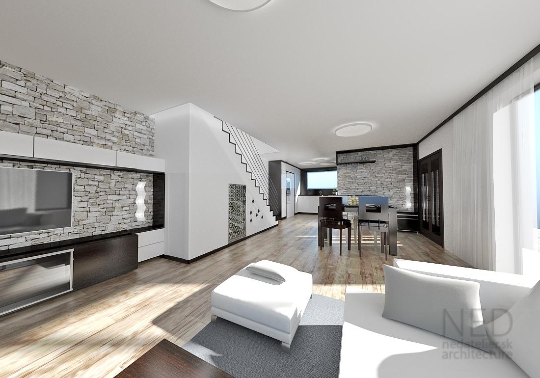 a2cd51c81 Dobrý interiér spočíva v presvetlení a to dosiahnete v odraze svetla a v  nie v tmavom prevedení nábytku a v prehnanom pigmente farieb stien či  stropov.